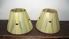 Paire d'abat-jours vintage Lustre Applique Lampe Décoration
