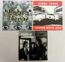 COBRA VERDE 45 Lot of 3 Rosenberg Summer One Step Away White Striped Jets #G 261