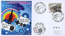 "VA207LT2 FDC KOUROU ""ARIANE 5 Rocket - Flight 207 / ECHOSTAR XVII & MSG-3"" 2012"