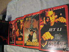 JET LI COLLECTION DVD BOX SET 4 MOVIES U.S. REGION 1