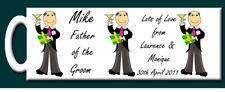 Personalised Father of the Groom Mug - Wedding Gift