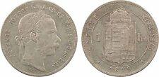 Autriche, 1 florin, François-Joseph Ier, 1879, argent, SUP - 70