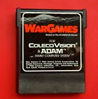 Wargames With Outlays Colecovision & Adam Family Computer Game War Games