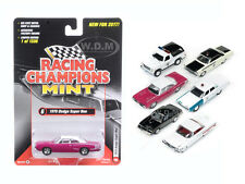 MINT RELEASE 2017 SET A SET OF 6 CARS 1/64 DIECAST BY RACING CHAMPIONS RC003A