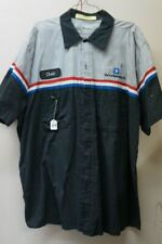 GM Mechanic Shirt Short Sleeve Large uniform w/patch Goodwrench auto work L #67