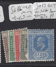LEEWARD ISLANDS (P1610B)  KE SET SG 36-40   MOG