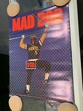 1984 BILL MAD DOG MADLOCK PITTSBURGH PIRATES 17X23 POSTER RARE