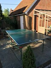 Kettler Table Tennis Table, bats and balls