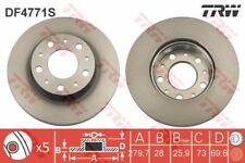 Brake Discs 300mm Vented Citroën Relay 2.0 HDI 2.2 HDI 120 Front Brake Pads