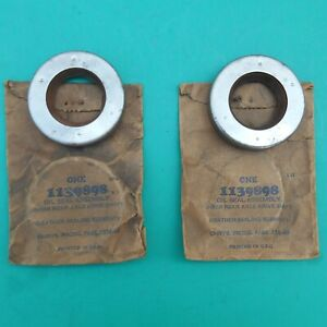 2 MOPAR NOS rear axle seals 1139898 for 1936-1948 Chrysler Plymouth Dodge Desoto