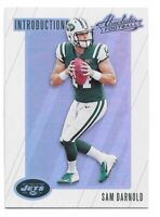 Sam Darnold Rookie Card 2018 Absolute Introductions USC Trojans New York Jets RC