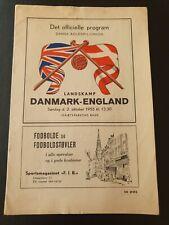 More details for 1955 - denmark 🇩🇰 v england 🏴