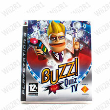 Buzz Quiz TV for PS3 *Requires Buzzers* Family & Kids *1ST CLASS POST*