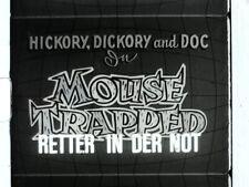 Vintage Silent 8mm Walter Lantz Cartoon Castle Films Feat German Title Card