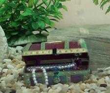 Air-ActionTitanic Treasure Chest Ornament Fish Tank Decor Aquarium Decoration