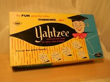 Classic Vintage Yahtzee game 1st year of issue