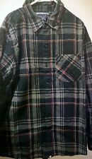 Vintage Tapout checked shirt MMA UFC RARE!