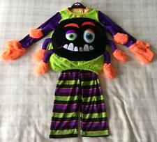 George @ Asda 3d Spider Dress up Long Sleeve Halloween Top Age 1-2 Years