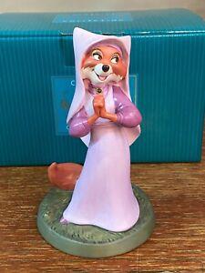 "WDCC Disney "" Devoted Damsel "" Maid Marian from Robin Hood -------  NEW"