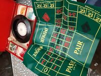 vintage old retro roulette game by K&C london england