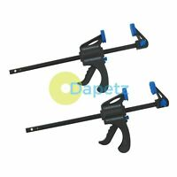 "2-PACK-x-150mm - 6"" QUICK-RELEASE-RATCHET-BAR-CLAMP-STRONG- LIGHT WEIGHT CLAMPS"