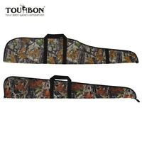 Tourbon Tactical Camo Rifle Shotgun Slip Bag Soft Padded Gun Case Storage Pack