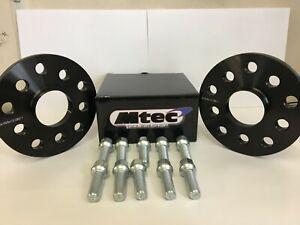 Audi TT Mk1,2,3 MTEC Hubcentric Wheel Spacers 5x100/112 57.1 10mm + OE Bolts