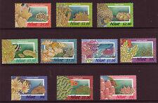NEW ZEALAND NIUE ,FISH, CORALS, UNDERWATER, UNMOUNTED MINT