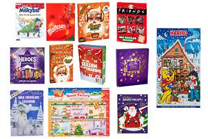 Choclate Christmas Advent Calendar Nestle Cadbury Heroes Maltesters Milkybar