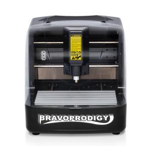 Mini Desktop CNC Router / Engraver - BravoProdigy