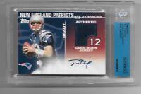 TOM BRADY 2008 TOPPS NFL DYNASTIES AUTO AUTOGRAPH JERSEY JSY CARD #1/25 1/1!!!