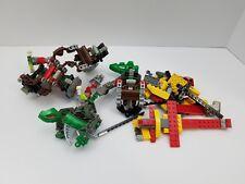 lot of Assorted bricks parts pieces And Bionic Legos mixed lot
