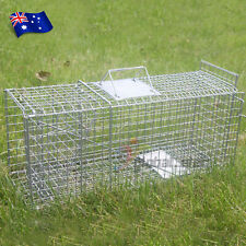 Humane Possum Cage Live Animal Catch Cat Rabbit Bird Bait - Extra Large