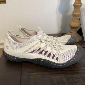 JBU BY JAMBU Evergreen Slip-on Sneaker White  Gray SIZE 12