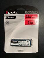 Kingston A2000 Solid State Drive 1TB M.2 2280 PCIe 3.0x4 (SA2000M8/1000G)