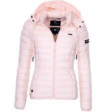 Marikoo Ladies Autumn Winter Quilted Jacket Parka Between-Seasons New