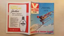 VIE D'ITALIA E DEL MONDO 1968 N°1 AOSTA CAPOCOTTA 5/17