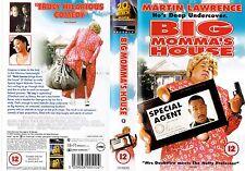 BIG MOMMA'S HOUSE VHS PAL MARTIN LAWRENCE,PAUL GIAMATTI,NIA LONG,CARL WRIGHT