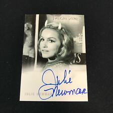 2000 Rittenhouse Twilight Zone Julie Newmar on Card Auto Autograph *Sc3