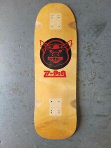 Rare Z Flex Z Pig Skateboard Deck gripped Santa Cruz  Dogtown  Powell Peralta