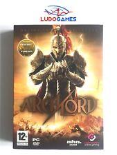 Archlord PC Completo Retro Videojuego Caja Grande Videogame Mint Condition