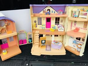 Fisher Price Loving Family Ranch Dollhouse Rare Vintage