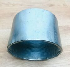 "UNBRANDED GALVANIZED 5"" RIGID THREADED COUPLING"