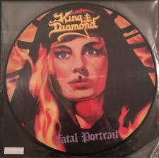 King Diamond - Fatal Portrait LP - PICTURE DISC VINYL ALBUM - Mercyful Fate NEW