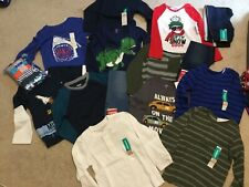 Huge Lot of Boys Clothes Size 4T New