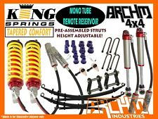 """HOLDEN COLORADO RG (2012-ON) ARCHM4X4 """"REMOTE RES"""" 2INCH F&R SUSPENSION LIFT KIT"""