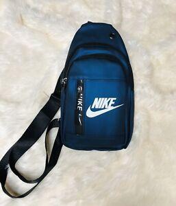 NIKE SLING Bag one shoulder BACKPACK Color Navy