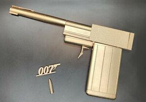 James Bond 007/Golden gun /Props/ Cosplay/Collectables 3D Printed