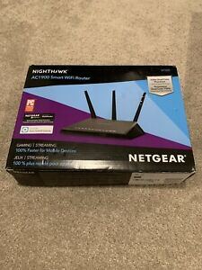 NETHGEAR NIGHTHAWK AC1900 SMART WiFi ROUTER R7000-100NAS NEW