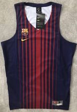 Mens Nike Fc Barcelona Barca Jersey Tank Top Gym Sports Holiday Ltd Edt Messi